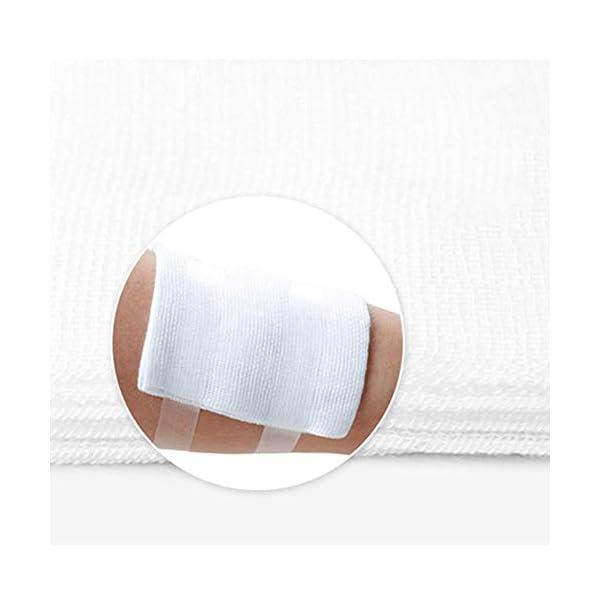 XHINB [5 * 7 CM] Total 60 Piezas Gasa médica Vendaje para heridas esterilización desinfección algodón algodón médico quirúrgico Gasa Vendaje Parche 6