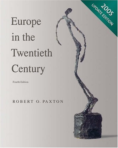 Europe in the Twentieth Century, 2005 Update