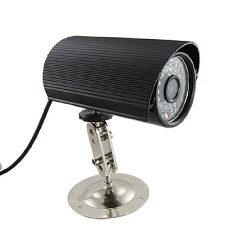 eDealMax PAL 420 líneas de TV LED 37 1/4 CCD de la cámara de infrarrojos de Color Negro