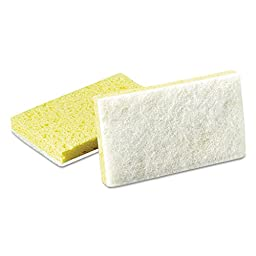 Scotch-Brite 63 Light Duty Scrub Sponge, 6-3/32\