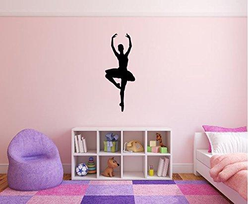 Maxx Graphixx Ballerina Wall Decal - 35