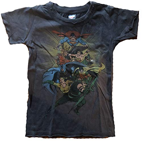 Junk Food DC Comics Characters Toddler T-Shirt Size 2T