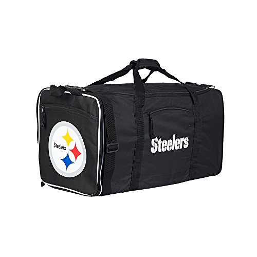 Amirshay, Inc.. Pittsburgh Steelers NFL Steal Duffel Bag (Black) (2-Pack) by Amirshay, Inc.