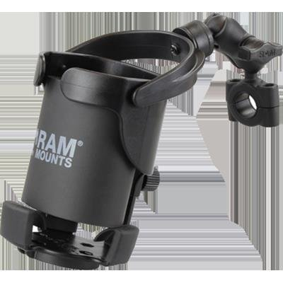 - RAM Mount RAM-B-408-75-1-A-417U Level Cup XL with Clamp for 0.5-1
