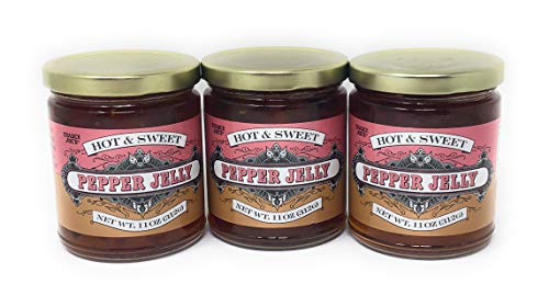 Trader Joe's Hot & Sweet Hot Pepper Jelly 11 oz (Case of 3)