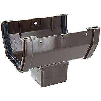 Genova Products Tv534156 10 Brn Vinyl Gutter Plastic