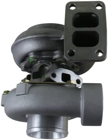Rareelectrical NEW TURBOCHARGER COMPATIBLE WITH JOHN DEERE FARM TRACTORS 4555 4560 4640 4650 40-30281 AN 40-30281AN 4097100001 409710-0001 313096 4097100002