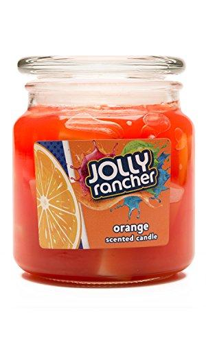 Jolly Rancher by Hanna's Candle 16.75-Ounce Orange Jar - Candle Hannas