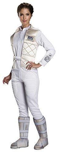 Rubie's Women's Star Wars Classic Princess Leia (Hoth), as Shown,