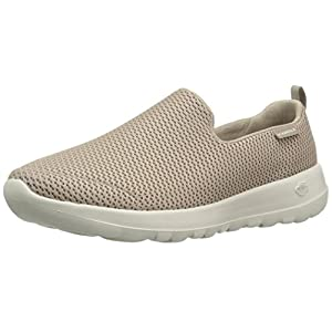 Skechers Performance Women's Go Joy Walking Shoe,Taupe,10 W US