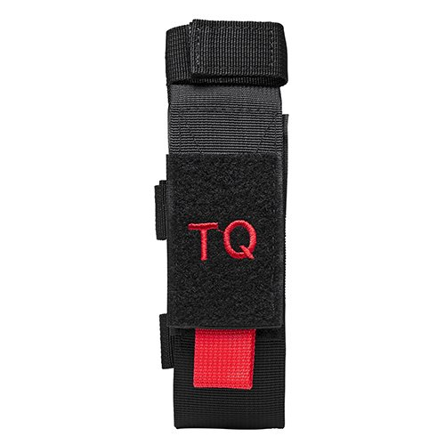 NcSTAR NC Star Tourniquet Tactical Shear Pouch Black Red Velcro Flap