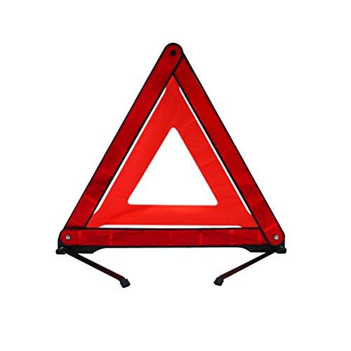 KEEPING Car Warning Sign Safety Triangle Reflective Hazard Breakdown Emergency Light Folding by Keeping