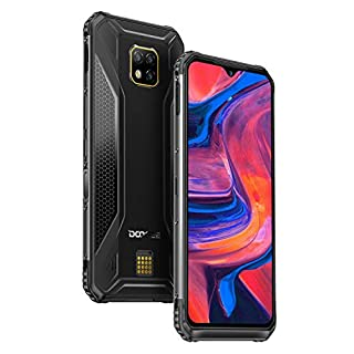 DOOGEE S95 PRO Rugged Smartphone 4G, Unlocked Cellphone Outdoor, 8+128GB, Helio P90 Dual SIM Free Android 9.0 IP68/IP69K Waterproof, 48+8+8+16MP AI Cameras, 6.3 inch, 5150mAh, GPS/NFC/Wireless Charge