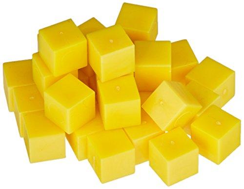 ETA hand2mind Yellow Plastic Base Ten Units, Set of 100