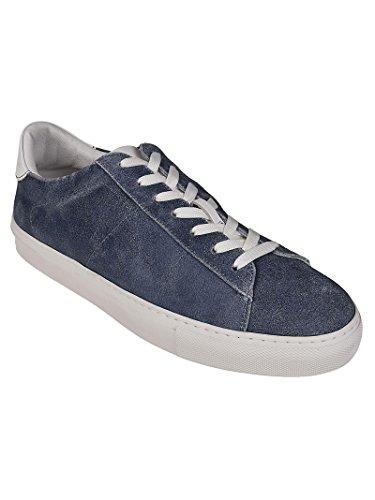 Dondup Men's XS058Y373US59DU888 Blue Leather Sneakers professional cheap online bXpuozYkqe