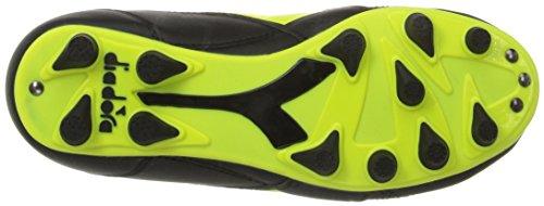 PU Jr Cleats Yellow Diadora MD Soccer Brasil Flou Black R Ow6a6qtP