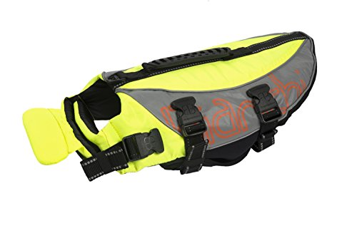 Petego Salty Dog Pet Life Vest, Medium, Fits Girth 27 to 32-Inch, Yellow by Petego