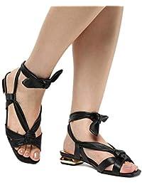 Rasteira Shoestock Lace Up