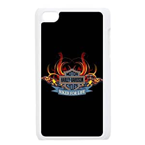 Quotes protective Phone Case harley logo For Ipod Touch 4 NP4K03589