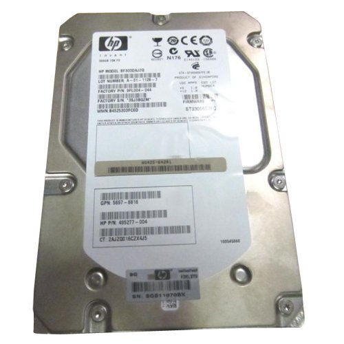 - 495277-004 Hewlett-Packard 300Gb 15000Rpm 40-Pin Fiber Channel Hard D
