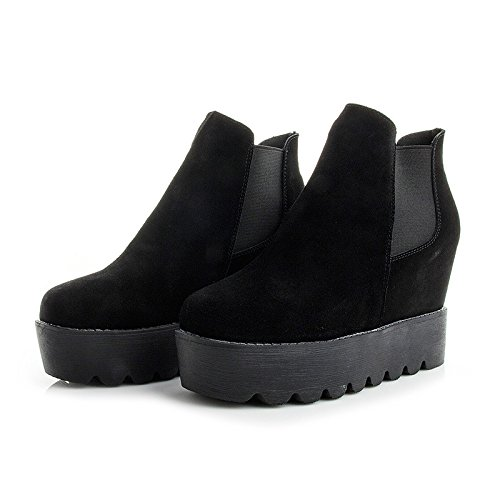 Thick Shoes The Within KPHY Versatile Women'S And Autumn And The New Set Thirty Women Increased nine Winter Matte Foot Shoes cYnxY6X