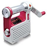 Eton ARCPT300W Axis Self-Powered Safety Hub with Weather Radio and USB Cell Phone Charger (White)