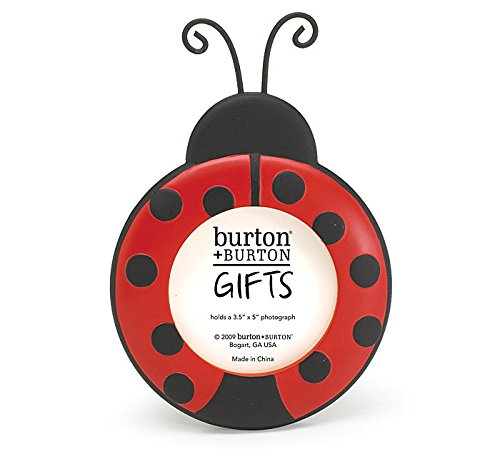 Ladybug Round Resin Photo Picture Frame