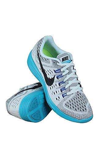 Nike Womens Lunar Tempo Running Shoes, FIBERGLASS/BLACK-BLUE LAGOON-GAME ROYAL, 37.5 B(M) EU/4 B(M) UK