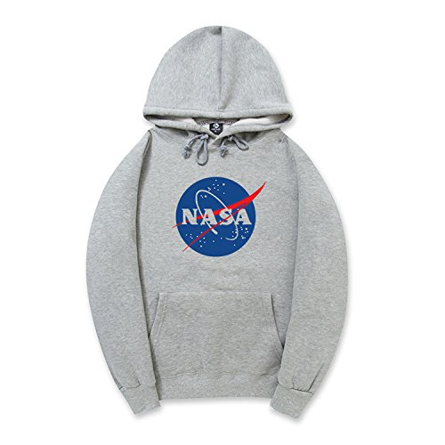 Coli & Tori Fashion NASA Logo Print Hoodie