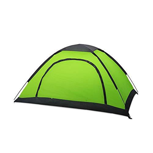 馬鹿スムーズに広々DALL テント テント ドームテント キャンプのテント 軽量 防水 家族 キャンプ 1-2人 - 屋外 スタイル アウトドアテント (色 : 青)