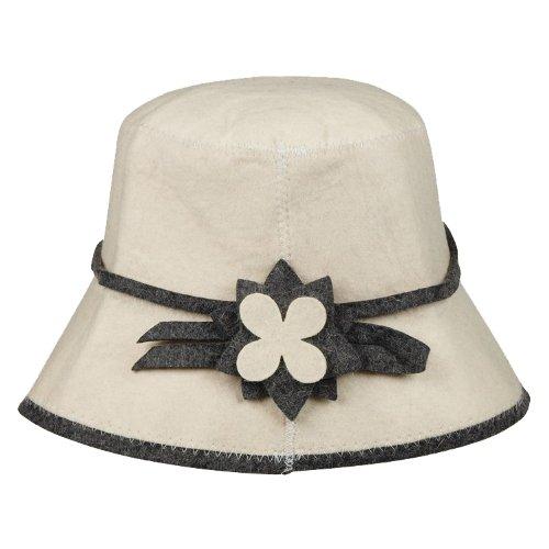 Cappello sauna per signora in feltro (Feltro tappo, sauna cappello) donne/Donna LeGran