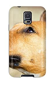 Cute Appearance Cover/tpu LVUYJtp11593DPAOi Dog Case For Galaxy S5