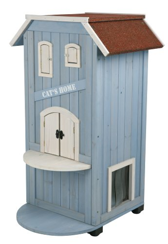 trixie pet products 3 story cats house