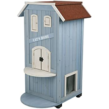Amazon.com : TRIXIE Pet Products 3-Story Cat's House : Cat