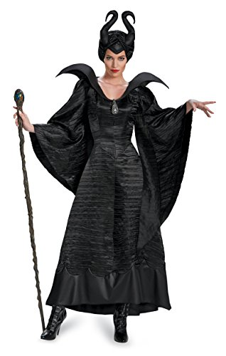 [71825 (Ladies 18-20) Adult Christening Gown Maleficent] (Maleficent Christening Adult Costumes)