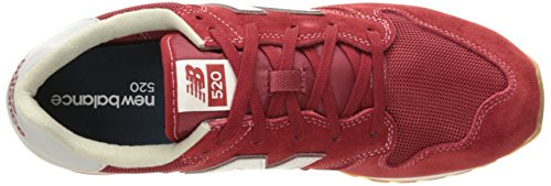 Uomo 520 Balance White Red Sneaker New 1twP5dx8qw