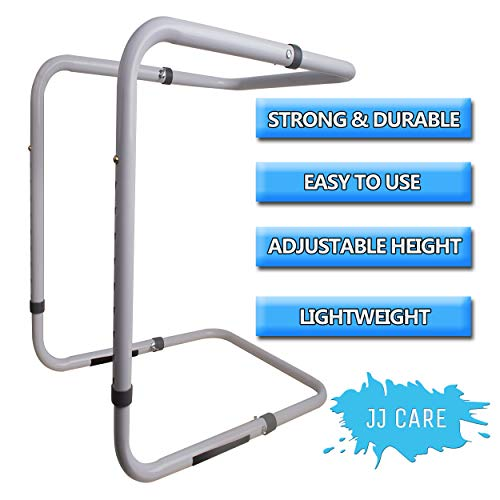 Adjustable Heavy Duty Blanket Lifter - Blanket Cradle for Feet - Steel and Aluminum Lift Bar Support Frame on Bed for Neuropathy, Foot Cramp, Sensitive Feet, Surgery Recovery, Arthritis, Gout ()