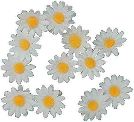 12 Packed Girls Sweet Daisy Hairpin Side Bridesmaid Hair Clip