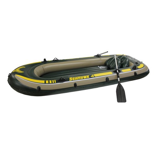 Intex Corp 68351E Seahawk 4 Set Lake Boat ()