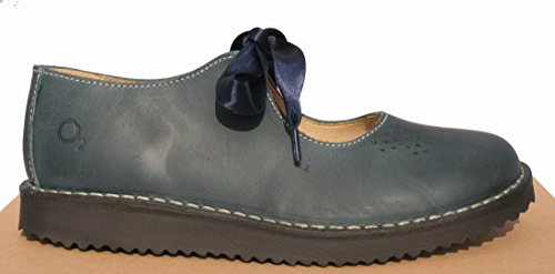 Oxygen Mora Down Up Blue Stitch Shoe Lace wqUTCwv