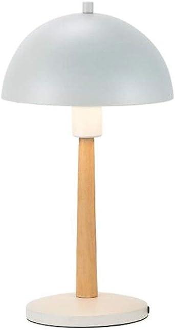 Lámpara Mesa Escritorio Pantalla de metal Lámpara de la mesita de ...