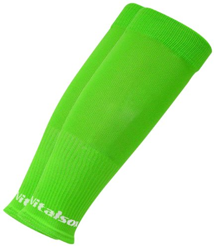 Vitalsox Tri Vital Silver Drystat Circulation Calf Sleeve, Lime, Small (New Lime Footwear)