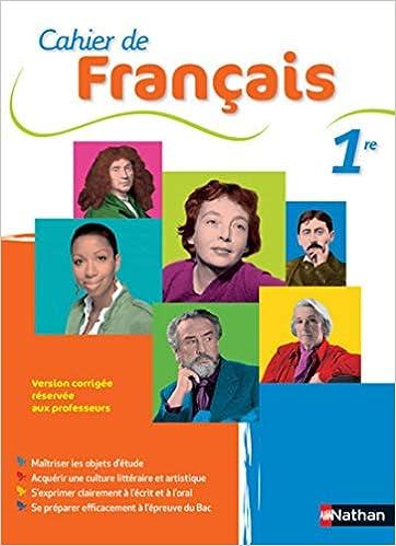 Cahier De Francais 1re Amazon Fr Franck Luchez Sandra