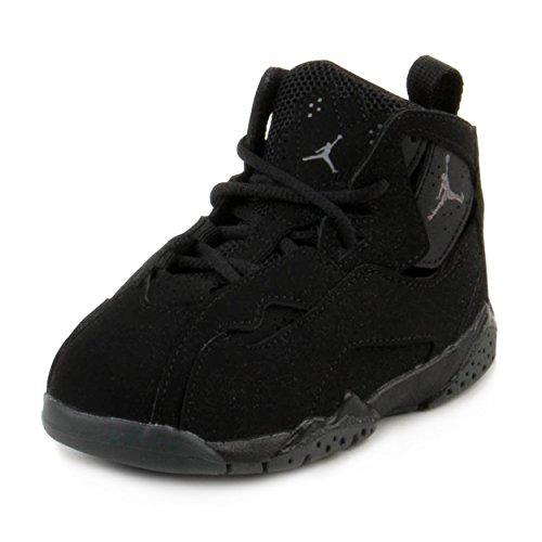 buy online cc58b 52199 ... buy nike toddler boys jordan true flight black dark grey 7c f2a10 1b0c6