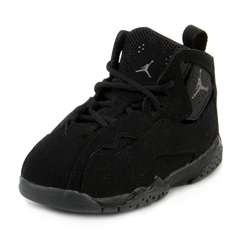 Nike Toddler Boy's Jordan True Flight Black/Dark Grey 5C by Jordan