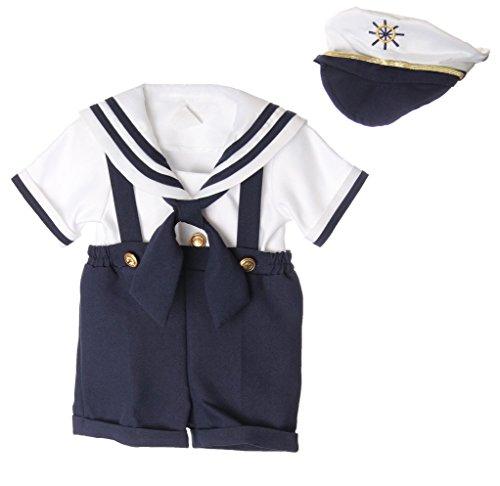 Caldore Boys Sailor Short Set Size M (12M) ()