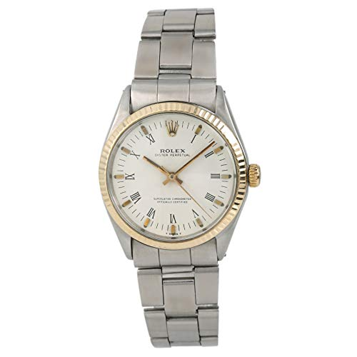 Rolex Watches Oyster - Rolex Oyster Perpetual Automatic-self-Wind Male Watch 1002 (Certified Pre-Owned)