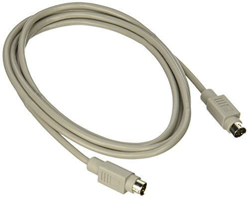 C2G 6ft 8-pin Mini-Din M/M Serial Cable 1.82m Blanco cable para video, teclado y ratón (KVM) - Switch KVM (MDIN-8M, MDIN-8M,...