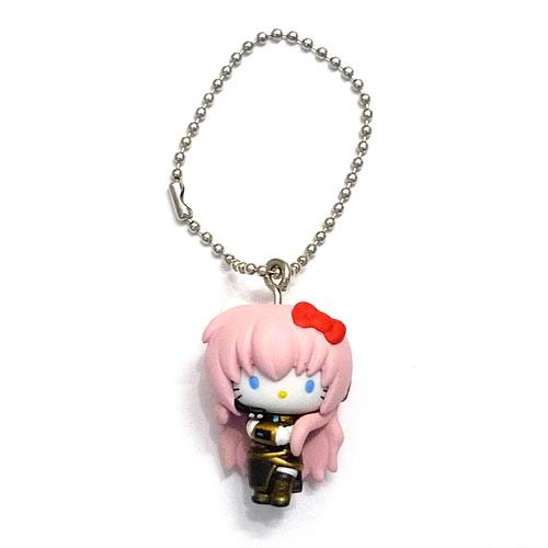 (Hatsune Miku ~ Hello Kitty ball chain mascot Gacha Luka Hello Kitty single)