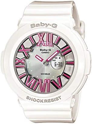 Casio Baby G Silver Dial Polyurethane Strap Ladies Watch BGA-160-7B2